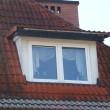 fot.1. Naturalna identyfikacja mostków termicznych wokół lukarny dachowej.